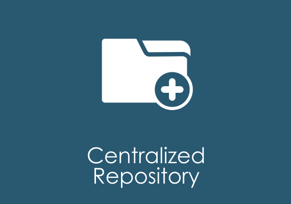 Centralized repository