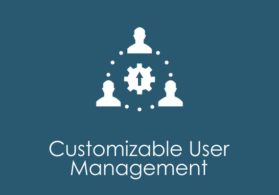 Customizable user management