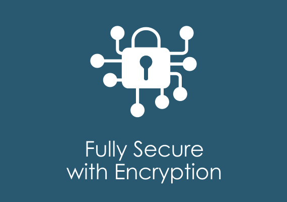 Fully secure with encryption