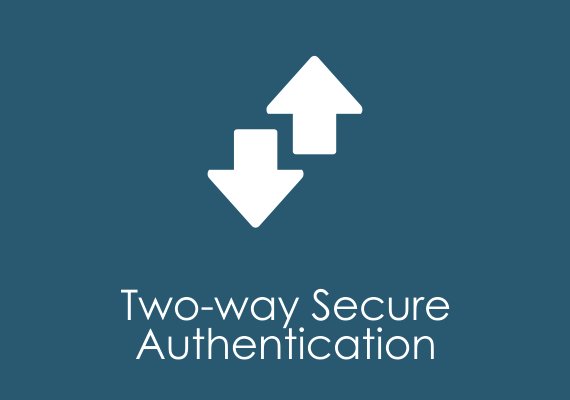 Two-way secure authentication
